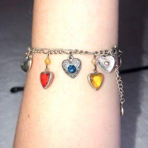 unbranded Jewelry - 💎BOGO FREE! Multi colored rainbow silver bracelet